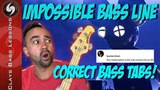 IMPOSSIBLE BASS LINE - Sparkee Approved 100 ACCURATE TABS