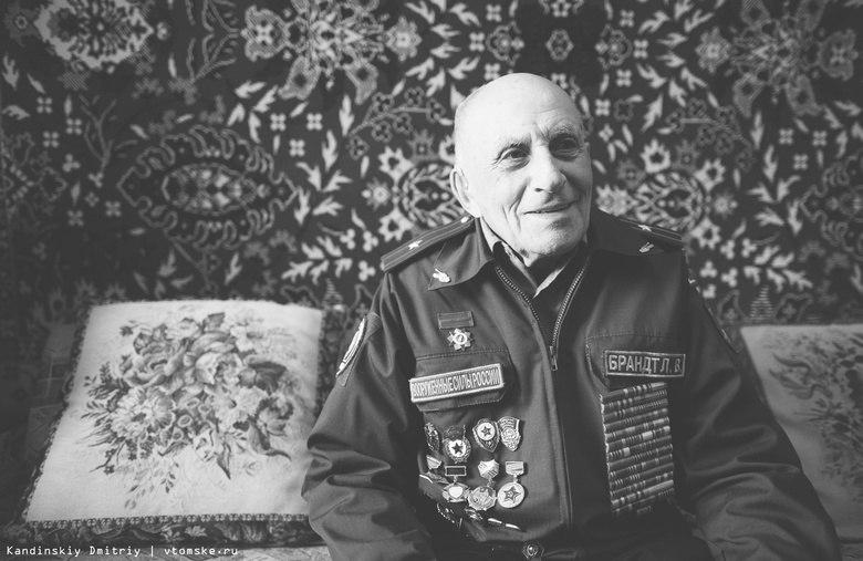 Умер один из освободителей Освенцима - томич Леонтий Брандт