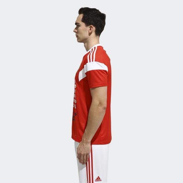 Футболка Here to Create by adidas x Покрас Лампас