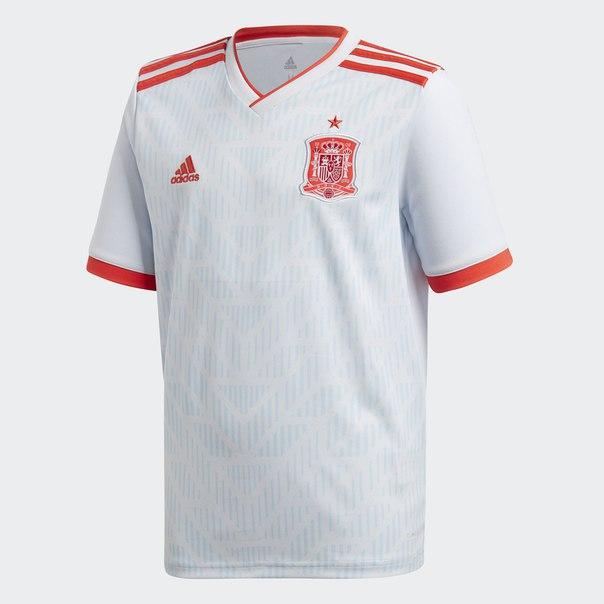 Гостевая игровая футболка сборной Испании