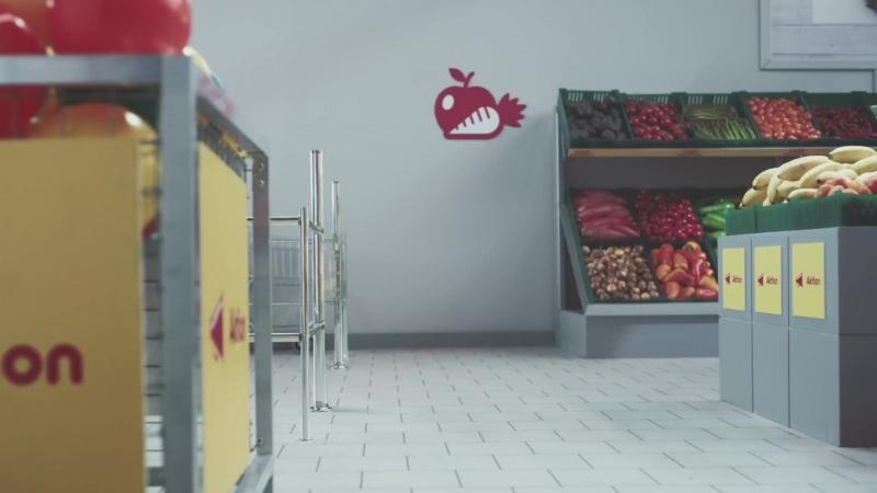 Кошки в магазине за покупками (Netto-Katzen)