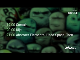 Corsair and kije / abstract elements, head space and torn live @ breakpoint / гречафанк шоу ()