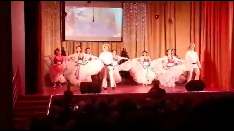 Мексиканский танецавалюлька