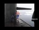 Купание наших подводников в Арктике, с комментариями американцев.