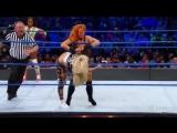 WWE SmackDown Live 20.03.2018Becky Lynch Naomi vs. Liv Morgan Sarah Logan
