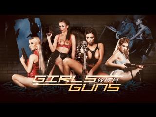 Giselle Palmer, Kenzie Reeves, Tina Kay, Michael Vegas, Ryan Ryder & Danny D - Girls with Guns (2018)