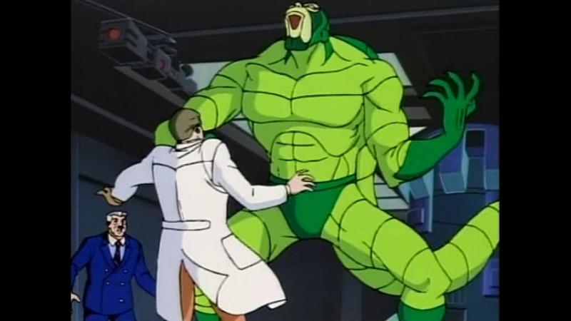 Человек паук 1994 года Сезон 1 Серия 2 Жало Скорпиона