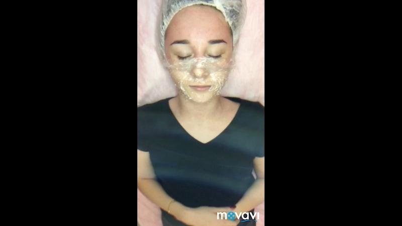 Уз чистка альгинатная маска