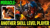 Another Skill Level Player!! - Troll Warlord Miracle - Dota 2