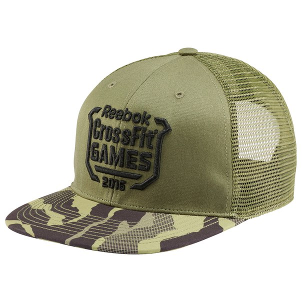 Кепка Reebok CrossFit Games Trucker