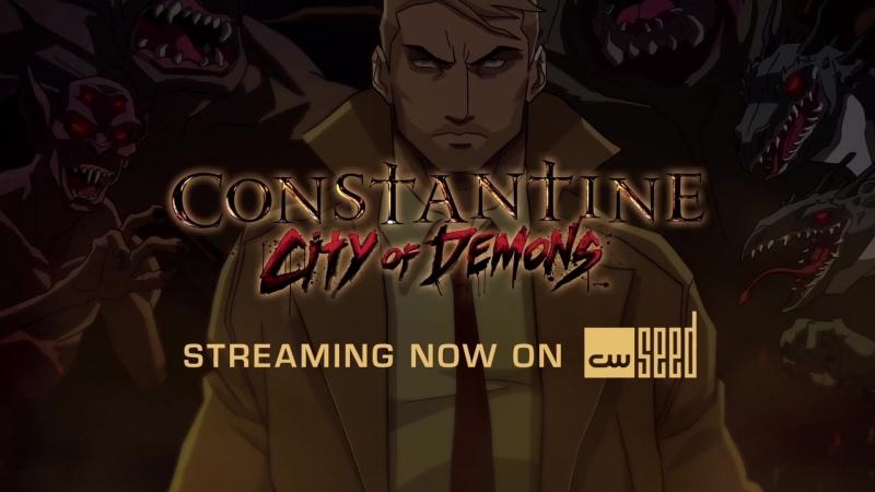 Constantine City of Demons ¦ Matt Ryan Returns in Constantine City of Demons ¦ CW Seed
