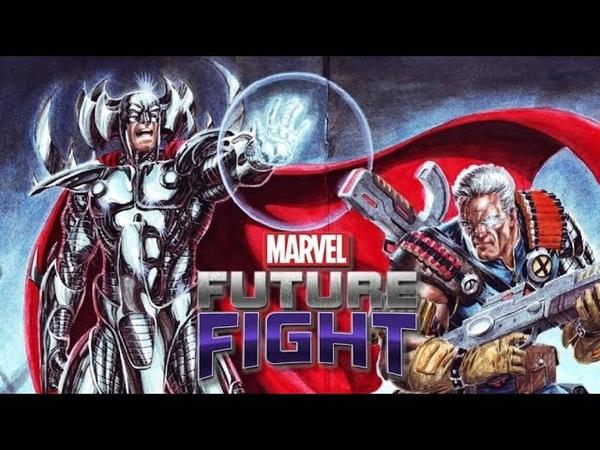 Marvel Future Fight T2 Stryfe All Max Review 漫威未來之戰 T2紛爭 全滿狀態 全模式導覽
