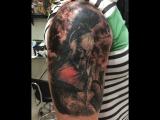 300 спартанцев Salah tattoo