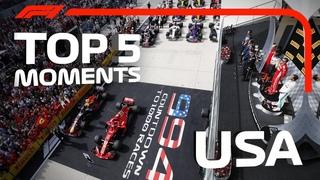 Топ-5 моментов Гран-при США-2018