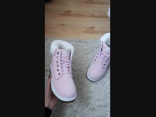Ботинки зимние.Обзор