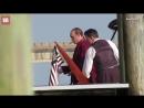 Tom Hardy and Matt Dillon on the set of Fonzo