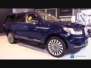 2018 Lincoln Navigator V6 BiTurbo - Exterior and Interior Walkaround - 2018 Montreal Auto Show
