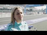 Carmen Jorda Drives the ABB Formula E Car in Mexico City