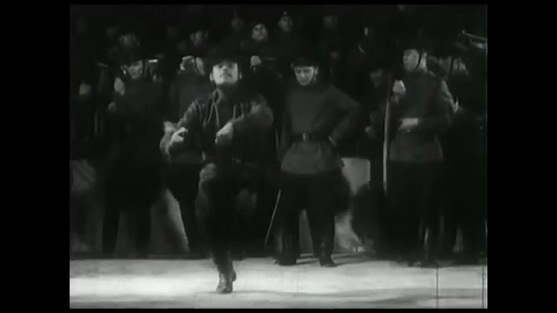 Краснознамённый ансамбль. А.В. Александрова. Съёмки 1943. Киноконцерт к 25 -летию Красной армии.