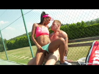 FullyClothedPissing - Isabella Chrystin Golden Shower After Tennis XXX