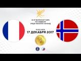 Гандбол. Франция - Норвегия. Финал. Чемпионат мира 2017. Женщины