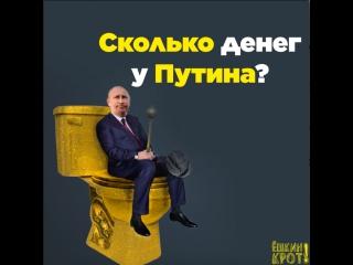 Сколько денег у Путина