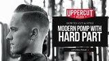 Haircut Tutorial How to Cut &amp Style a Modern Pompadour with a Hard Part X Uppercut Deluxe Pomade