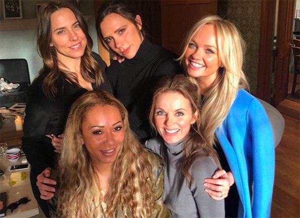 Участницы Spice Girls снимут фильм о супергероях