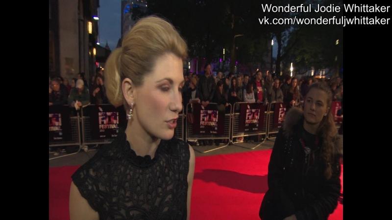 12 октября 2013 › Интервью на премьере фильма «Привет, Картер» в рамках кинофестиваля, организованного «BFI»