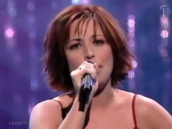 Евровидение-2001. Natasha St-Pier- Je nai que mon âme. Франция. 4 место.
