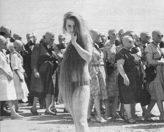 Учебная тревога, Омская область, 1962 год