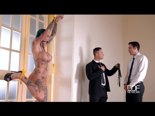 Calisi ink [ threesome, anal, big tits, deep throat, dp, slave spanking, milf, ropes, submissive, facefuck slapping, rough sex ]