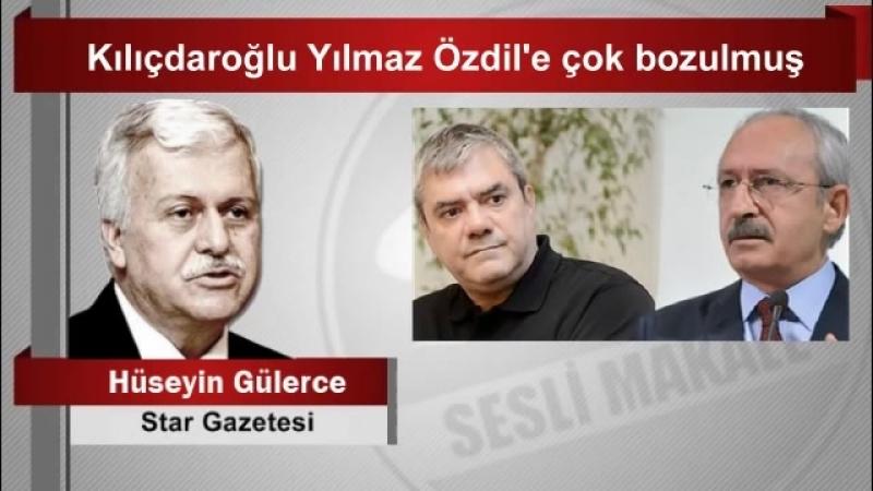(6) Hüseyin GÜLERCE Kılıçdaroğlu Yılmaz Özdil'e çok bozulmuş - YouTube
