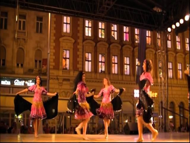 Egyptian national Folklore dance Troupe Al Kaomeyya Cairo Egypt Ples iz Egipta part 2