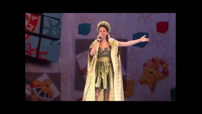 Armenian Girl Sings 5th Element Opera song Plava Laguna - Vika Ogannesyan