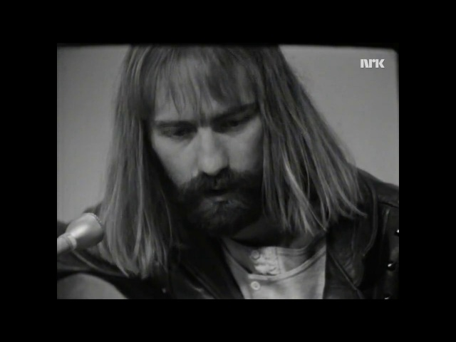 Roy Harper NRK TV Studio Oslo Norway 1969