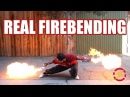 Punch Activated Arm Flamethrowers (Real Life Firebending) | Sufficiently Advanced