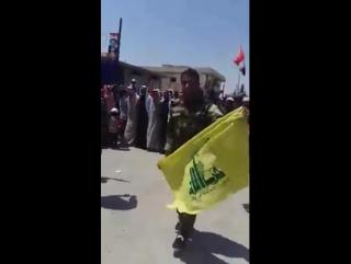 Жители города аль-Кхафса в восточной местности провинции Алеппо празднуют освобождение региона от терроризма