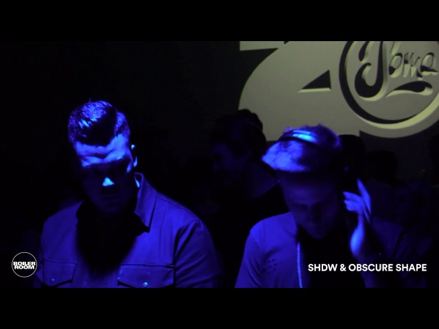 Shdw Obscure Shape Boiler Room Glasgow DJ Set