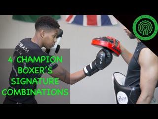 4 Champion Boxer's Signature Combinations Tutorial