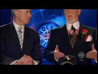Don Cherry Gets Pissed Off About Ovechkins 50th Goal Celebration - Coachs Corner 03/21/09