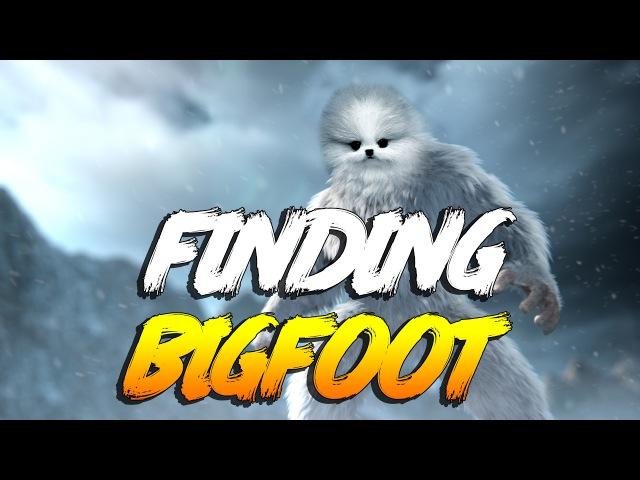 КАК Я БИГФУТА ЛОВИЛ Finding bigfoot