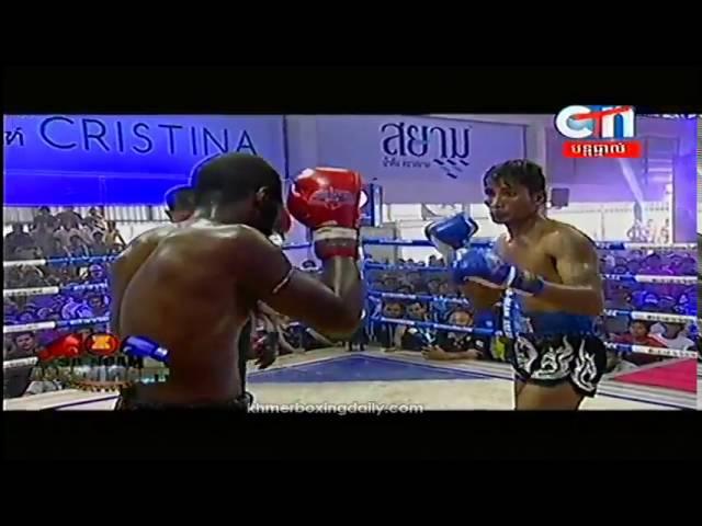 SA NGAM ASEAN Fight Prom Samnang Cambodia Vs Mike American 23 September 2016