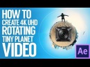 How to create 4K UHD Rotating Tiny Planet Video with Nikon Keymission 360 / Gear 360 / Ricoh Theta