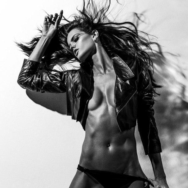 Izabel Goulart Naked For Muse Magazine