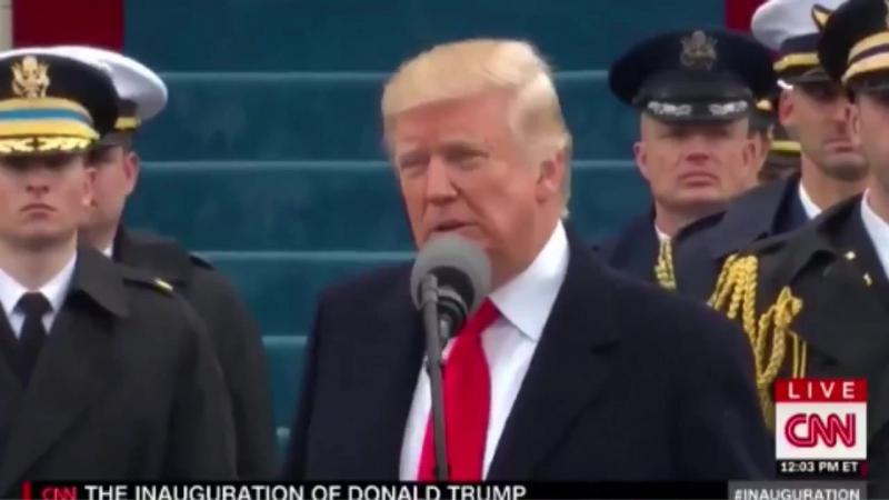 Во время инаугурации Дональд Трамп использовал в речи цитату из фильма «Темный рыцарь: Возрождение легенды».