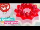 GELATINA DE YOGUR Y FRESAS Receta fácil Quiero Cupcakes