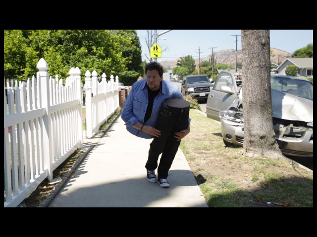 Andy Gross SplitMan is Back Magician Cut in Half Car Crash Prank! Don t Text and Drive