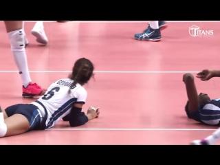 TOP 15 DUMP Ball. Womens Volleyball.