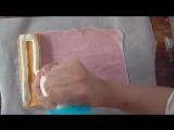 Eng Sub Mochi wrapped strawberry cake